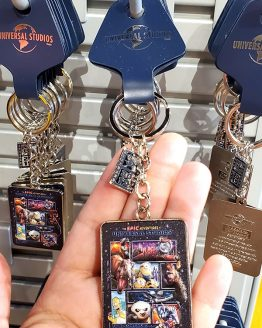 The Epic Adventures of Universal Studios Parks - Keychain Character Collage