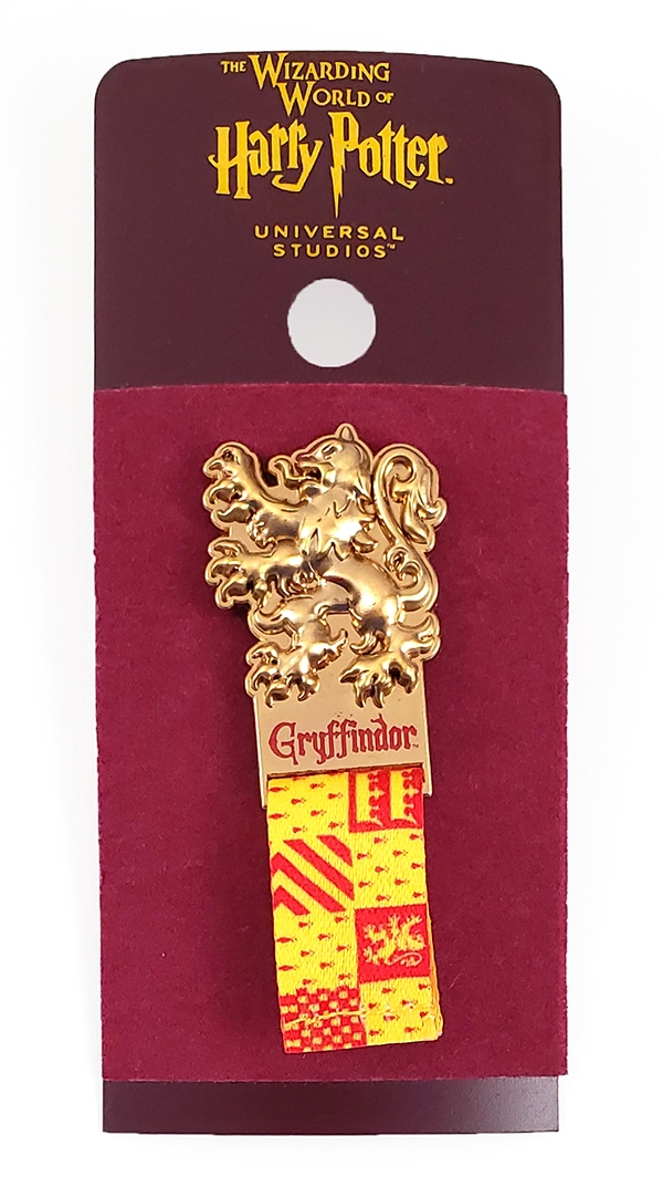 Wizarding World of Harry Potter Universal Studios Parks Trading Pin Gryffindor Quidditch Column