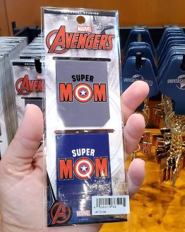 Super Mom Captain America Magnetic Bookmark Set - Universal Studios Parks Exclusive Merchandise