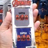 Super Dad Avengers Logo Magnetic Bookmark Set - Universal Studios Parks Exclusive Merchandise