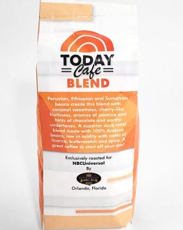 NBC Today Cafe Blend Universal Studios Parks Whole Bean Coffee 12oz