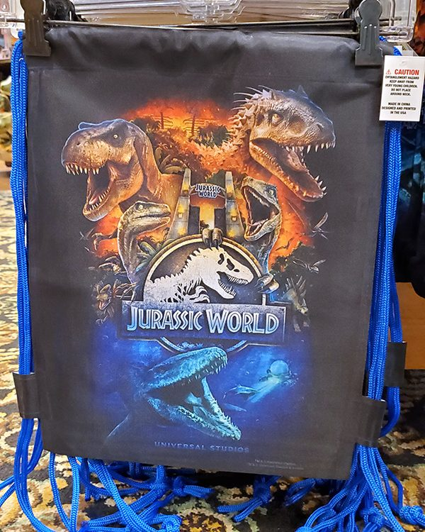 CONDITION: Brand NEW INCLUDES: 1 Bag Related to: Attraction, 2019, Poster Art, Dinosaurs, Theme Parks Normally Ships FAST! Within 1-2 business days. Please note this is a presale item. We will not purchase until the sale is complete. If for any reason the item sells out the same day as your purchase, a return will be issued immediately. Free shipping within the USA is included in the cost of this item. Authentic Licensed Merchandise from the Universal Studios Theme Park. Universal Orlando, Florida USA. Product Photography © Copyright Hedgehog's Corner. All Rights Reserved.