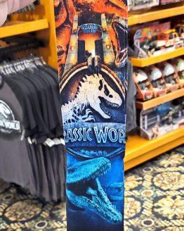 Jurassic World Universal Studios Parks Adult Fit Socks - JW The Ride Attraction Art