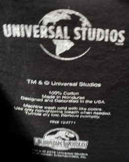 Jurassic World Universal Studios Parks Adult Shirt - JW The Ride Attraction Art