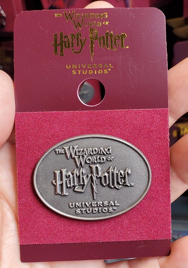 Wizarding World of Harry Potter Universal Studios Parks Trading Pin – WWoHP Oval Logo