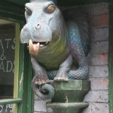Wizarding World of Harry Potter Universal Studios Parks Magical Menagerie Hippo