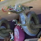 Wizarding World of Harry Potter Universal Studios Parks- Magical Menagerie Dragon