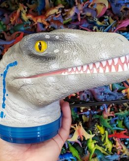 Jurassic World Universal Studios Parks Toy - Fill a Dino Raptor Blue Head