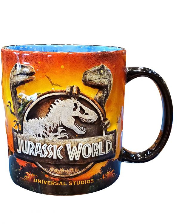 Jurassic World Attraction Logo Universal Studios Parks Coffee Mug