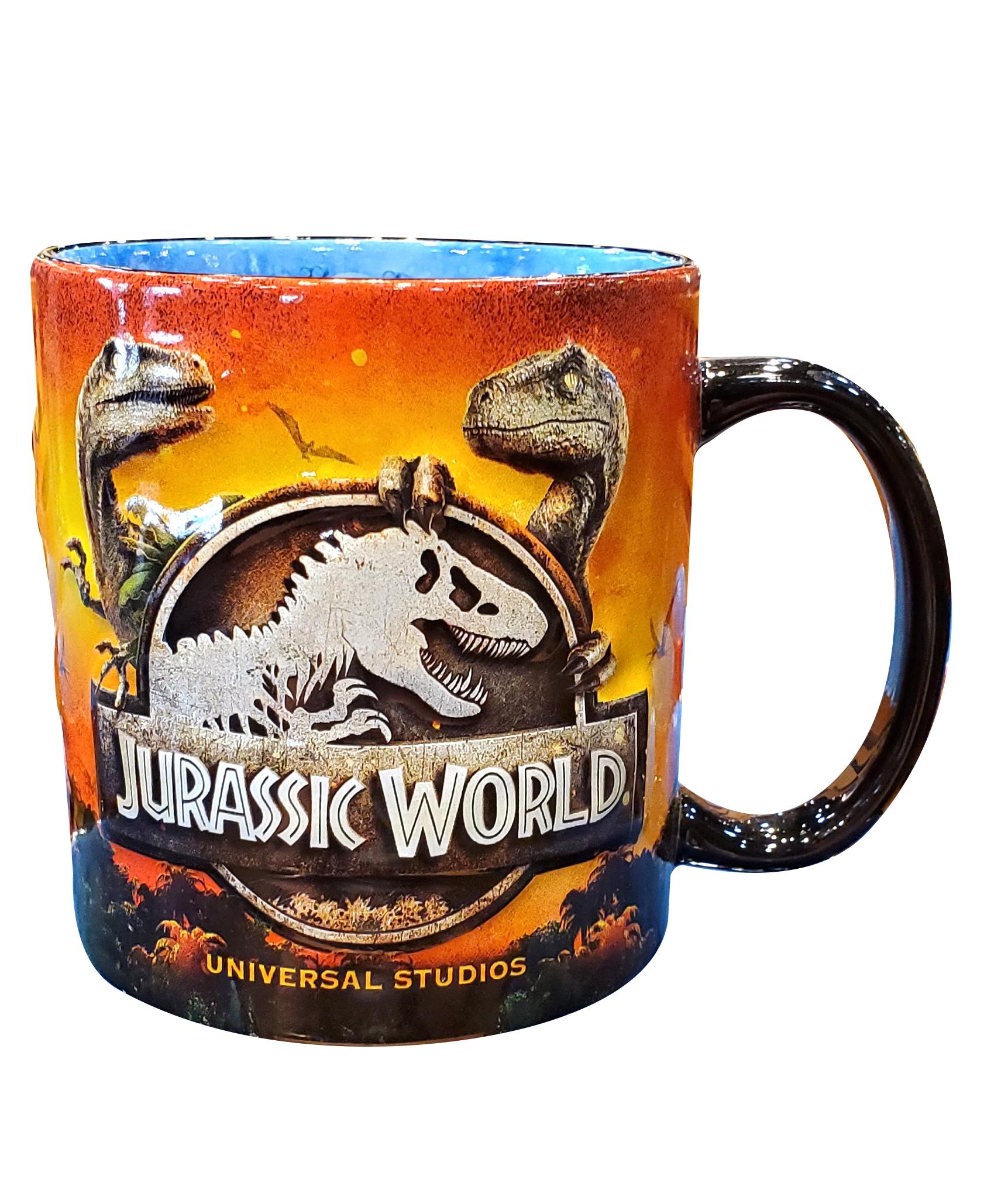 Jurassic World Attraction Logo Universal Studios Parks Coffee Mug