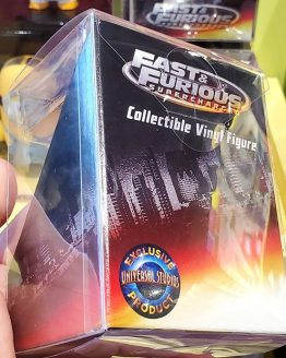 Fast and Furious Supercharged Universal Studios Parks Vinyl Uni-Minis Figure