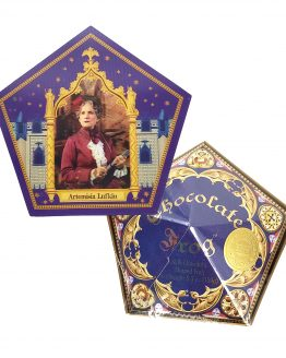 Wizarding World of Harry Potter Universal Studios Parks Chocolate Frog w/ Artemisia Lufkin Card (SEALED)