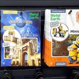 Metal Earth Universal Studios Parks Exclusive 3D Model Kits