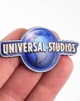 Universal Studios Parks Trading Pin - Universal Studios 2019 Blue Globe Logo