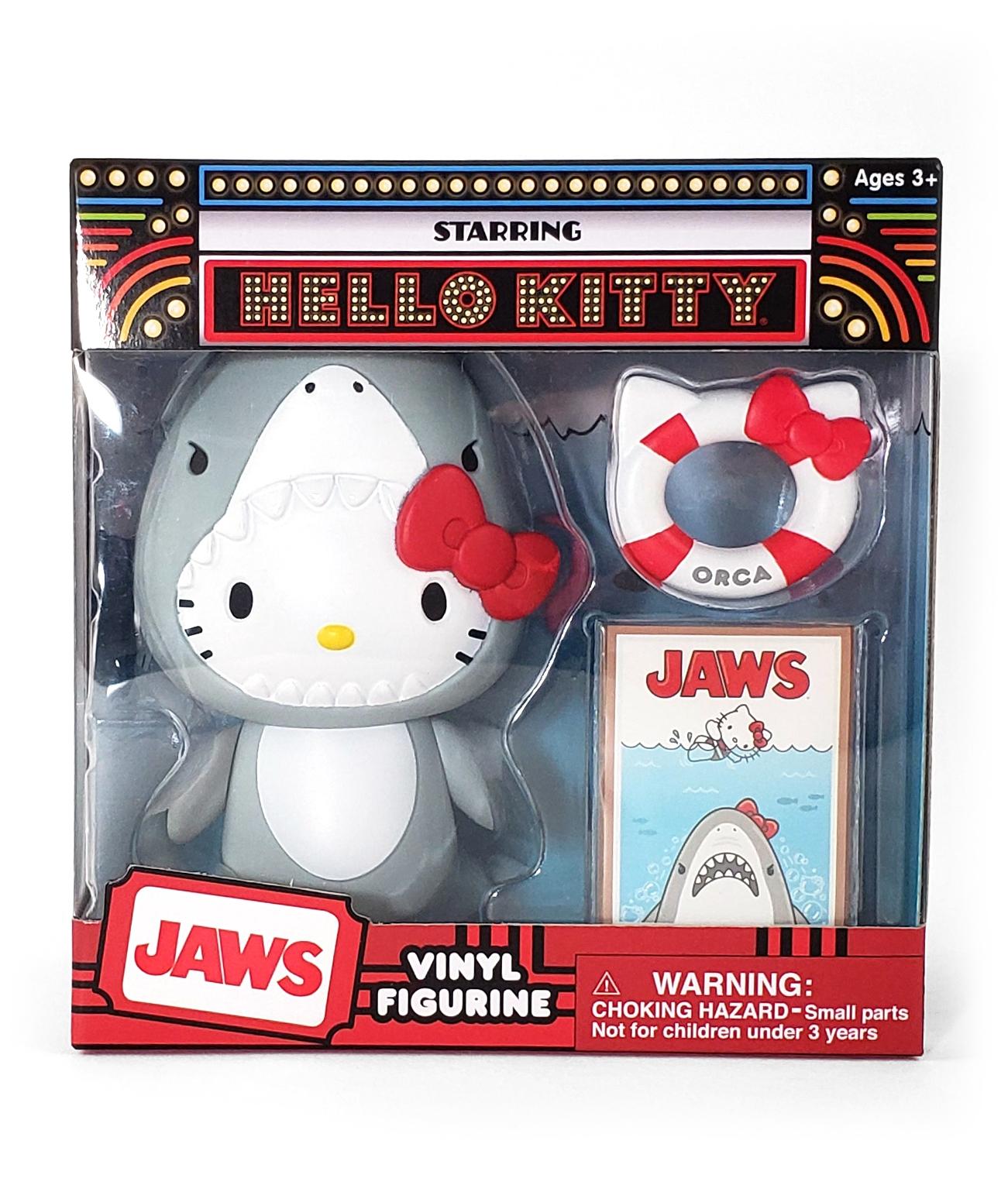 Hello Kitty Sanrio Universal Studios Parks Toy Figure Set Jaws Shark Costume