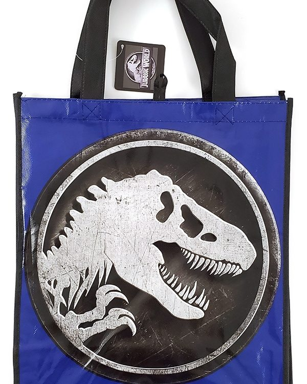 Universal Studios Parks - Reuseable Shopping Tote Bag - Jurassic World Logo