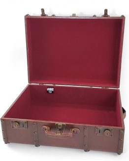 "Wizarding World of Harry Potter Universal Studios Parks Hogwarts Steamer Trunk Suitcase 21""x16"""