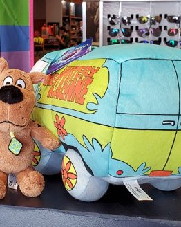 Scooby-Doo Universal Studios Parks Plush Scooby Doo Riding in the Mystery Machine