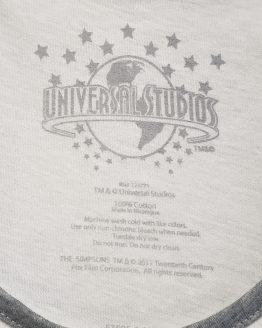 The Simpsons Universal Studios Parks Men's Tank Top Duff Logo