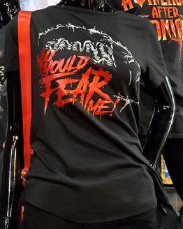 Halloween Horror Nights Universal Studios Parks HHN 2019 You Should Fear Me! Ladies Shirt
