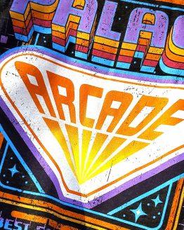 Halloween Horror Nights Universal Studios Parks HHN 2019 Palace Arcade Adult Shirt