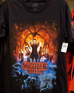 Halloween Horror Nights Universal Studios Parks HHN 2019 Stranger Things Adult Shirt