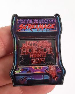 Halloween Horror Nights Universal Studios Parks HHN 2019 Event Arcade Trading Pin