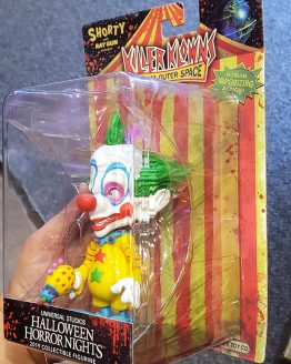 Halloween Horror Nights Universal Studios Parks HHN 2019 Killer Klowns Collectible Shorty Figure Toy