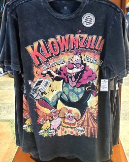 Halloween Horror Nights Universal Studios Parks HHN 2019 Killer Klowns Klownzilla Adult Shirt