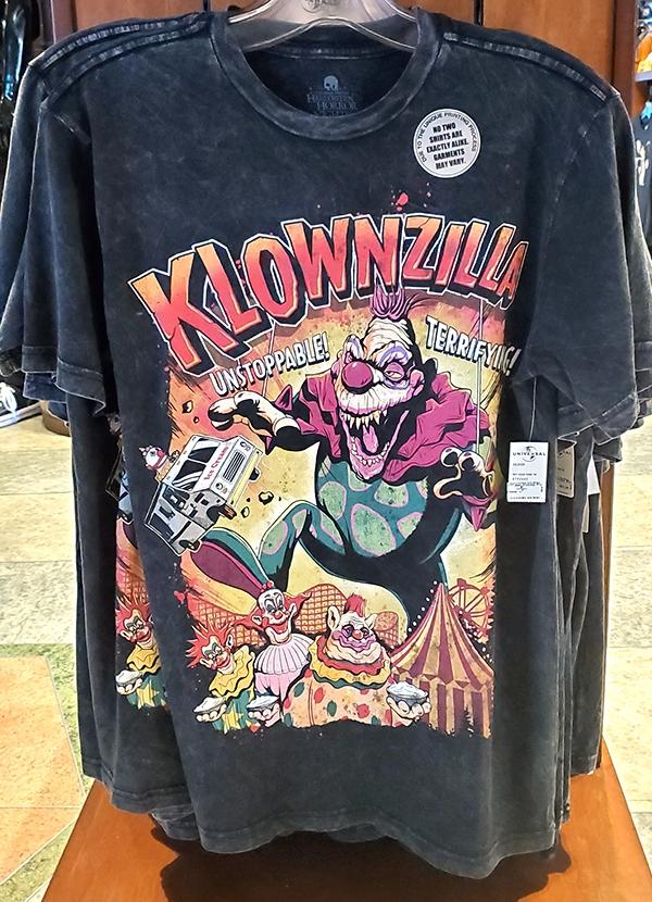 Halloween Horror Nights Universal Studios Parks HHN 2019 Killer Klowns Klownzilla Adult Shirt