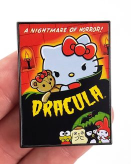 Hello Kitty Sanrio Universal Studios Parks Halloween Dracula Vampire Trading Pin