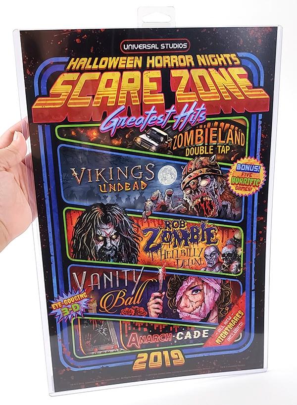 Halloween Horror Nights 2019 Poster.Halloween Horror Nights Universal Studios Parks Hhn 2019 Scare Zone Poster 11x17