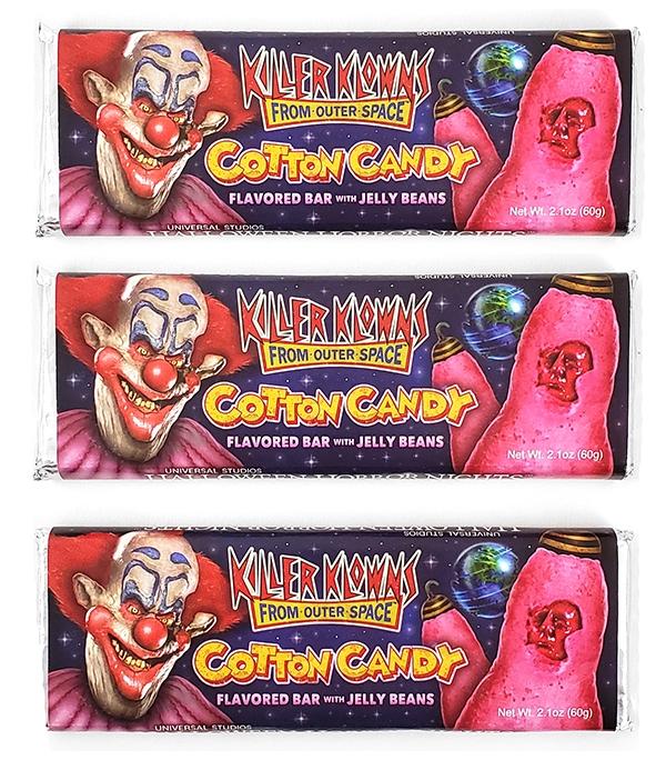 Halloween Horror Nights Universal Studios Parks HHN 2019 Killer Klowns Cotton Candy Candy Bar