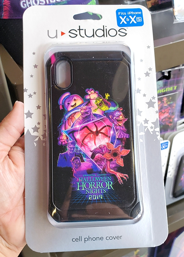 Halloween Horror Nights HHN 2019 Universal Studios Parks iPhone X & Xs Cell Phone Cover