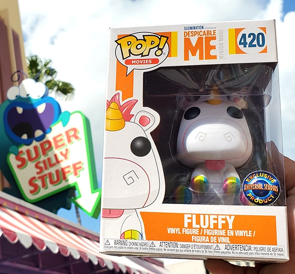 Despicable Me Universal Studios Parks Exclusive Fluffy Unicorn Funko Pop Vinyl Figure w/ Rainbow Hooves