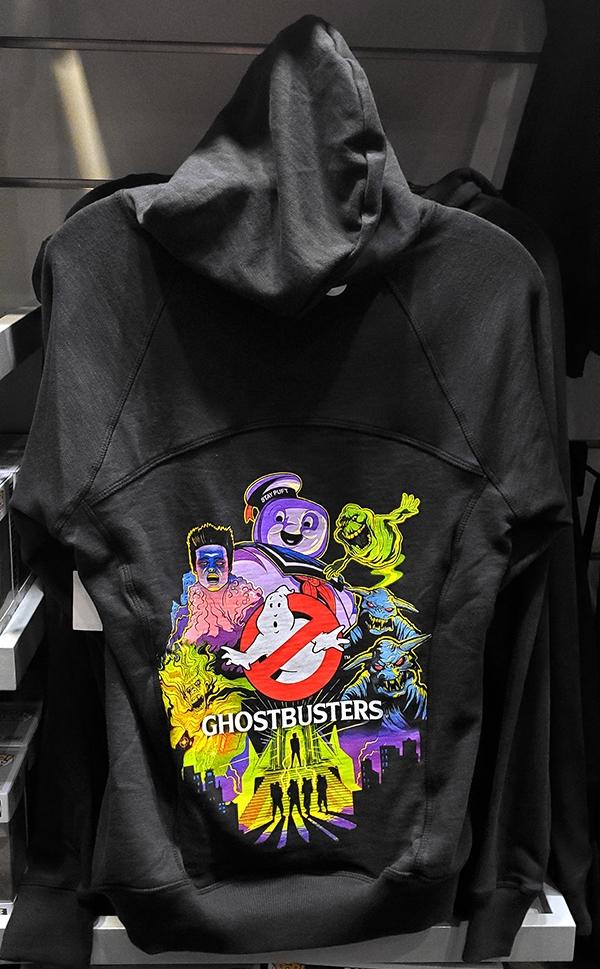 Halloween Horror Nights Universal Studios Parks HHN 2019 Ghostbusters Adult Hoodie Sweatshirt Converts to Drawstring Backpack