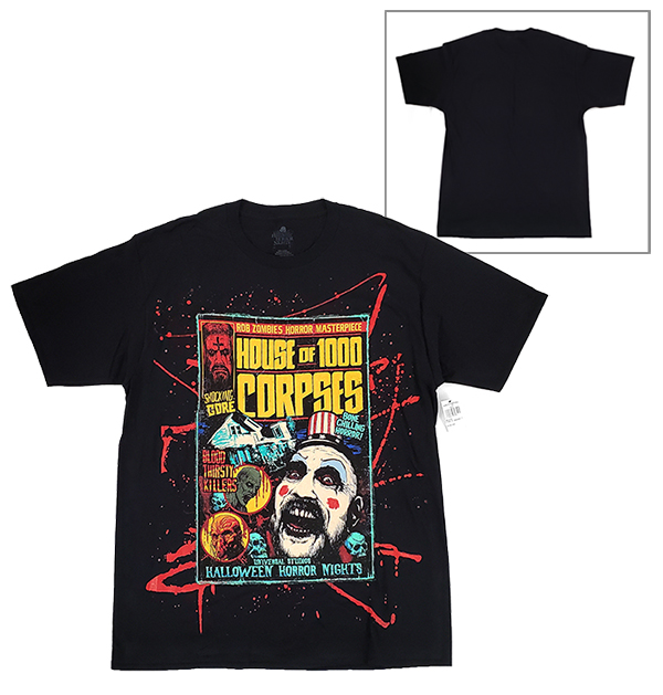 Halloween Horror Nights Universal Studios Parks HHN 2019 Rob Zombie House of 1000 Corpses Adult Shirt (Ver 2)