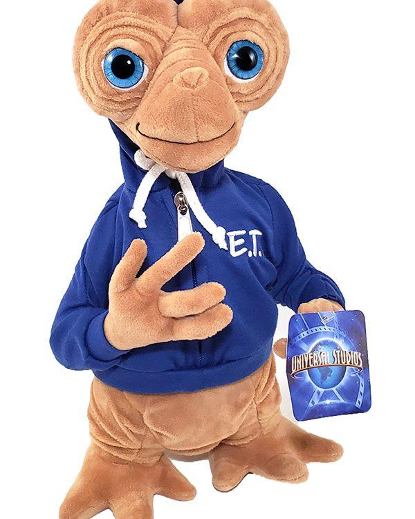 "ET the Extra Terrestrial Universal Studios Parks 15"" Plush Toy w/ Blue Jacket"