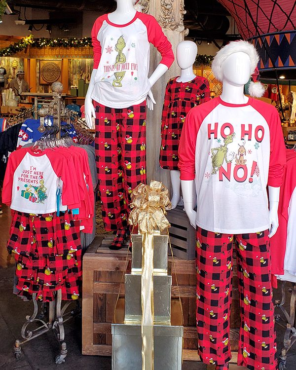 The Grinch Universal Studios Parks Christmas Red Plaid