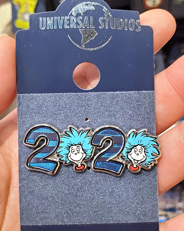 Cat in the Hat Dr Seuss Universal Studios Parks Thing 1 Thing 2 - 2020 Pin