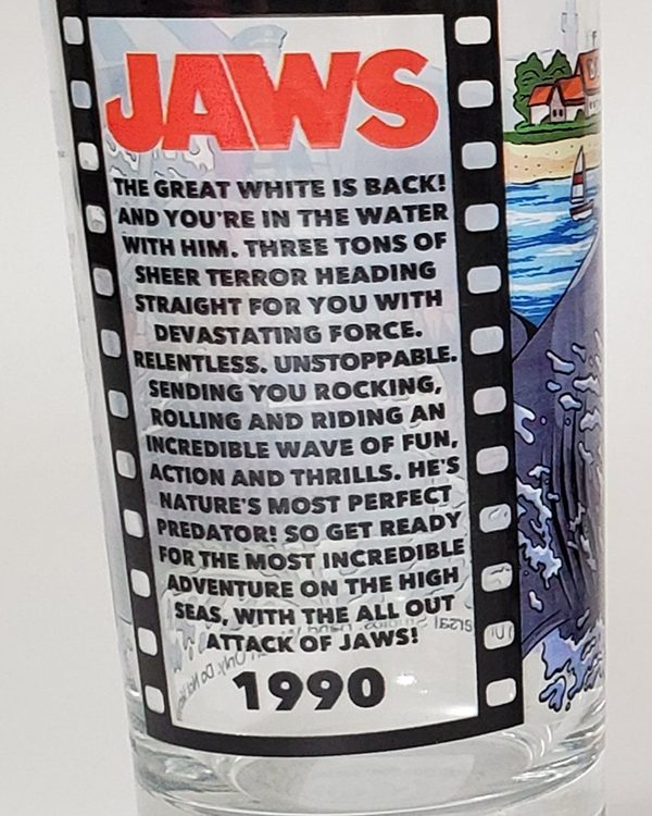 Universal Studios Parks 30th Anniversary Horror Retro Florida Glass Jaws Ride