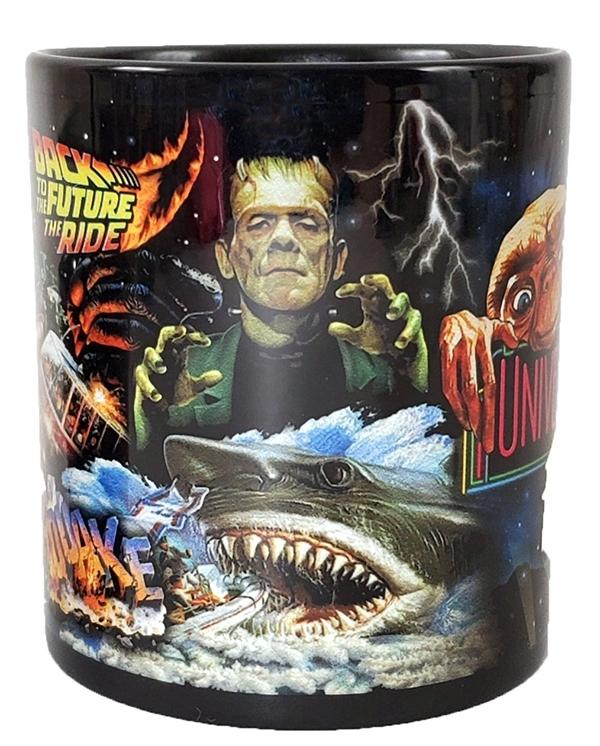 Universal Studios Parks 30th Anniversary Jaws Kong ET - Classic Rides Style Mug