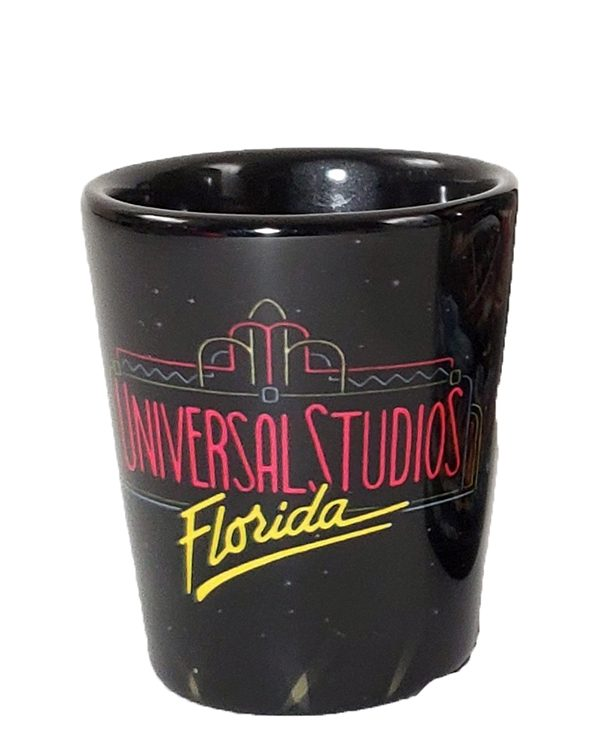 Universal Studios Parks 30th Anniversary Retro Florida Logo 2oz (1 Shot Glass)