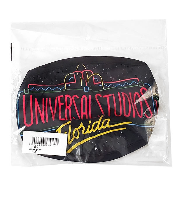 Universal Studios Parks Face Mask - 30th Anniversary Retro Florida Logo
