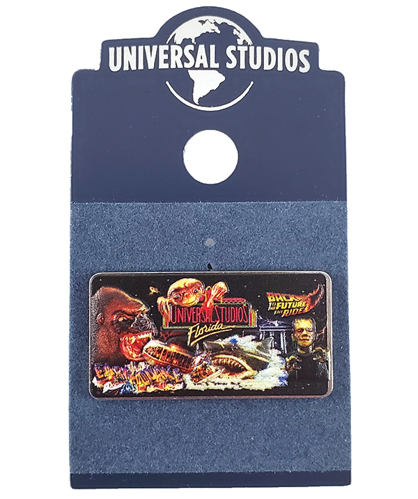 Universal Studios Florida Parks 30th Anniversary - Classic Attractions Pin