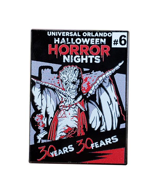 Universal Studios Florida Halloween Horror Nights Pin CARETAKER 30Years 30Fears