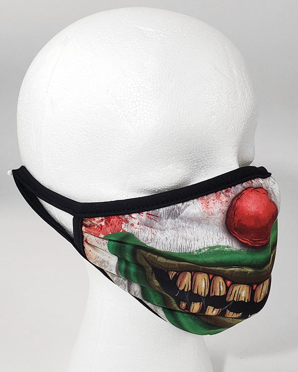 Universal Studios Parks Face Mask - Halloween Horror Nights 30 Years 30 Fears Jack the Clown Smile