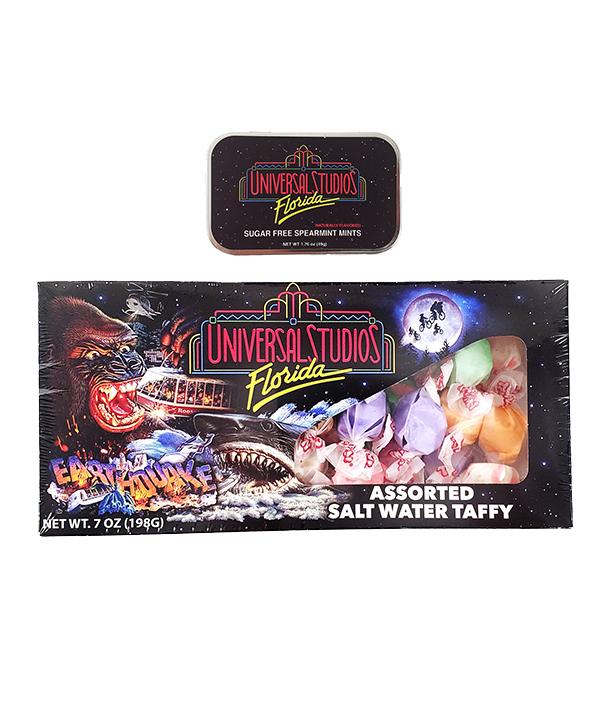 Universal Studios Florida Retro Candy Set - Salt Water Taffy & Mints