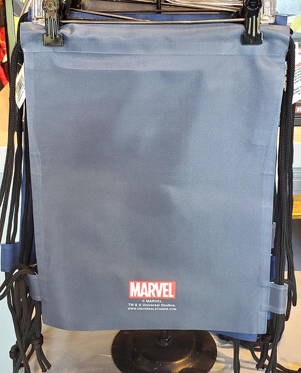Universal Studios Parks Marvel Avengers Heroes Drawstring Bag Universal Orlando Resort Logo