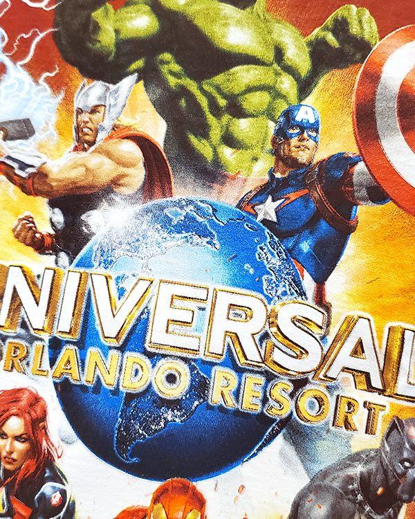 Universal Studios Parks Marvel Avengers Kids Shirt Universal Orlando Resort Logo